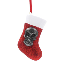 Skull With Sock Ornament Personalized Christmas Tree Ornament