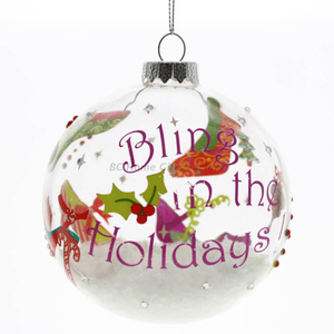 Glass Ball Christmas Personalized Ornament