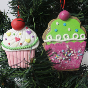 Personalized Polymer Clay Ornaments For Christmas Tree Decoration