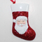 Santa Claus With Sock Ornament Personalized Christmas Tree Ornament