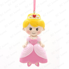 Princess Ornament Personalized Christmas Tree Ornament
