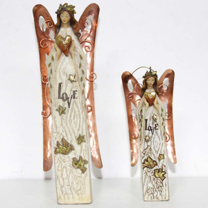 Golden Wing Angel Ornaments Christmas Decoration