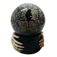 Halloween resin Snow globe