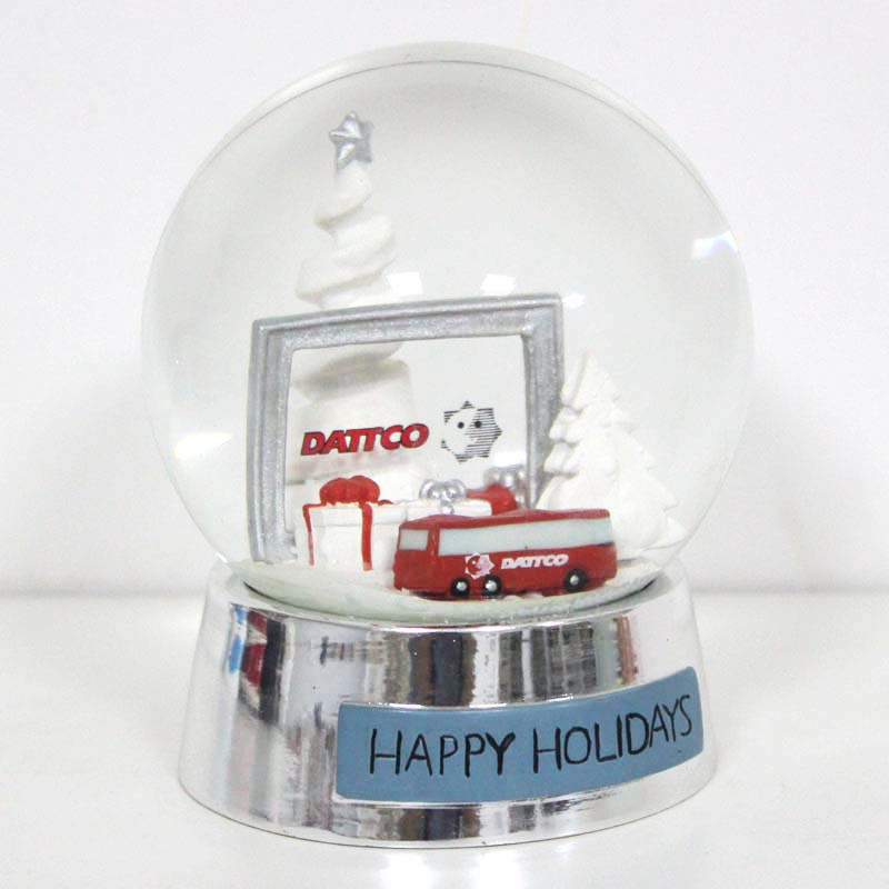 Christmas Bus Gifts Polyresin Snow globes