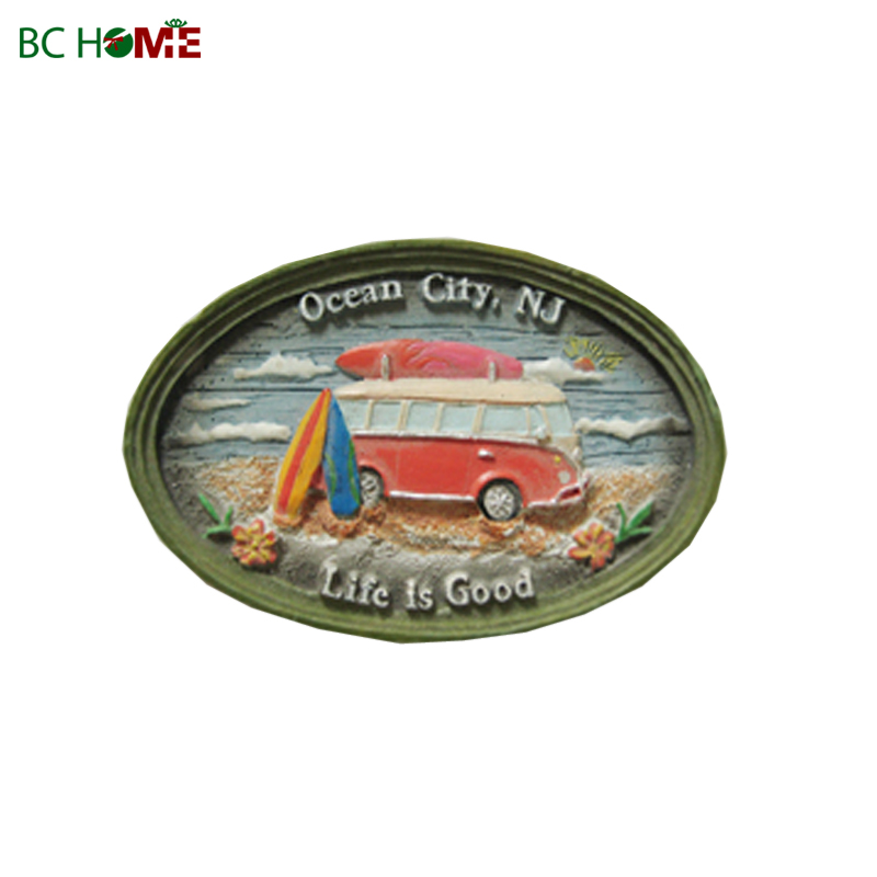 resin fridge magnets for souvenir
