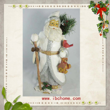 Frugal Santa Claus,resin Christmas ornaments decoration