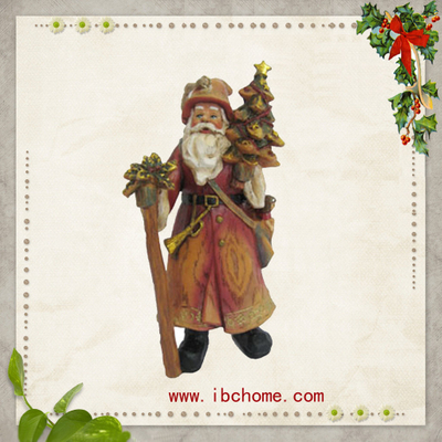 christmas tree ornaments with santa design