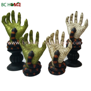 hands of zombie Halloween decorations
